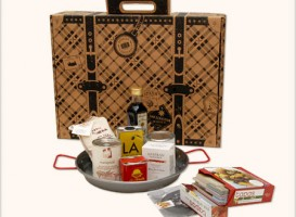 The Chef Suitcase - Spanish Suitcase - Gourmet Souvenirs from Spain