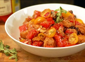 Spanish Panzanella recipe by Chef Virginia Monaco