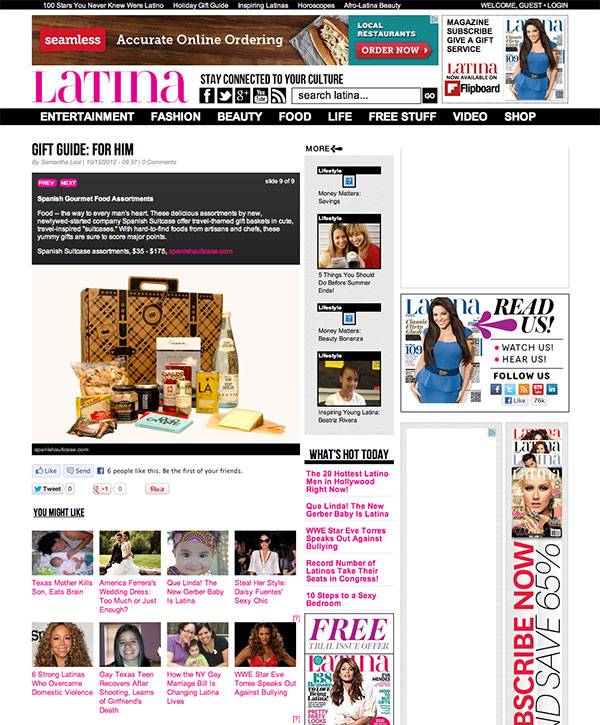 Best Gifts 2012 - Holiday Gift Guide & Great Gift Ideas | Latina