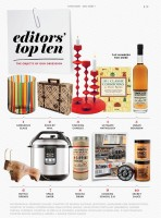 Food & Wine Magazine January 2013 Editor Picks Spanish Suitcase