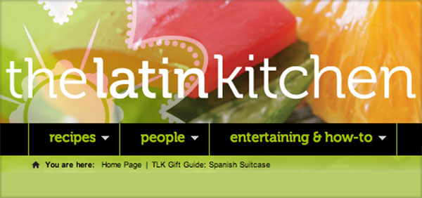 The Latin Kitchen Spanish Suitcase Gourmet Foods from Spain